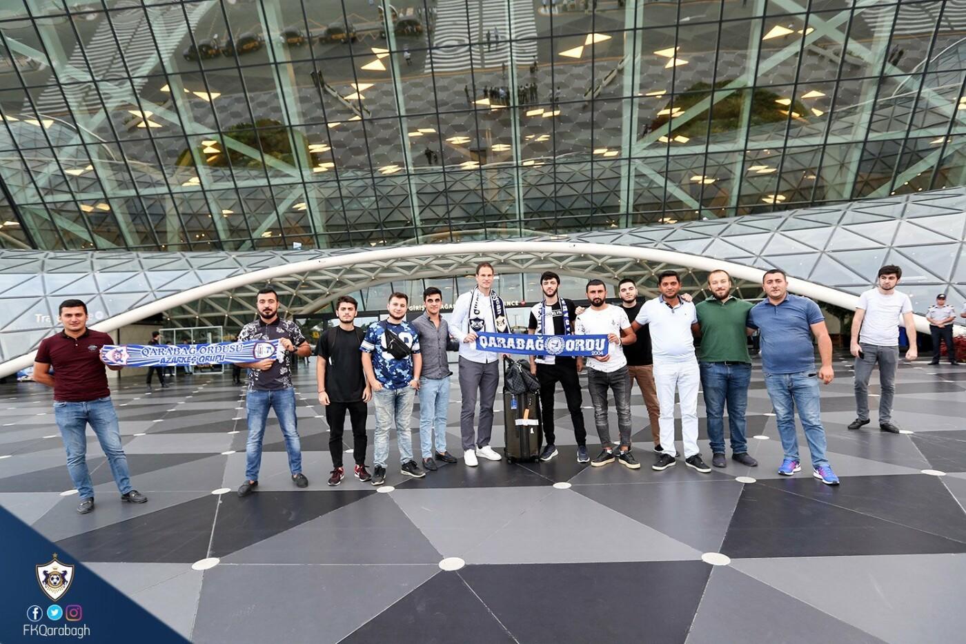 """""""Qarabağ""""ın yeni transferi Bakıya gəlib - FOTO, fotoşəkil-2"""