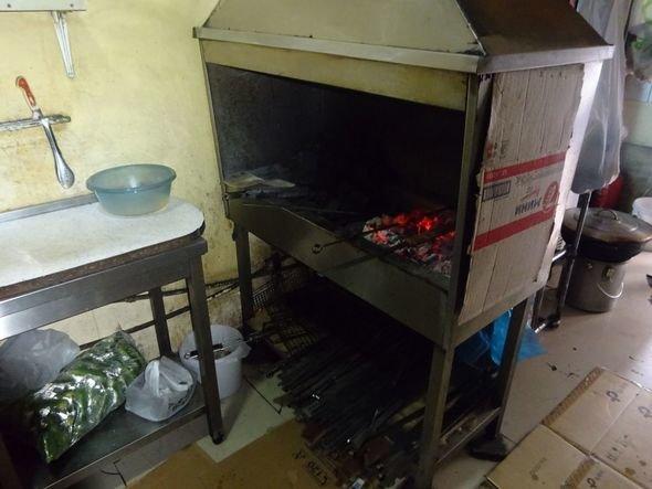 """Bakıda """"Sabiha"""" restoranında iyrənc mənzərə - FOTO, fotoşəkil-8"""