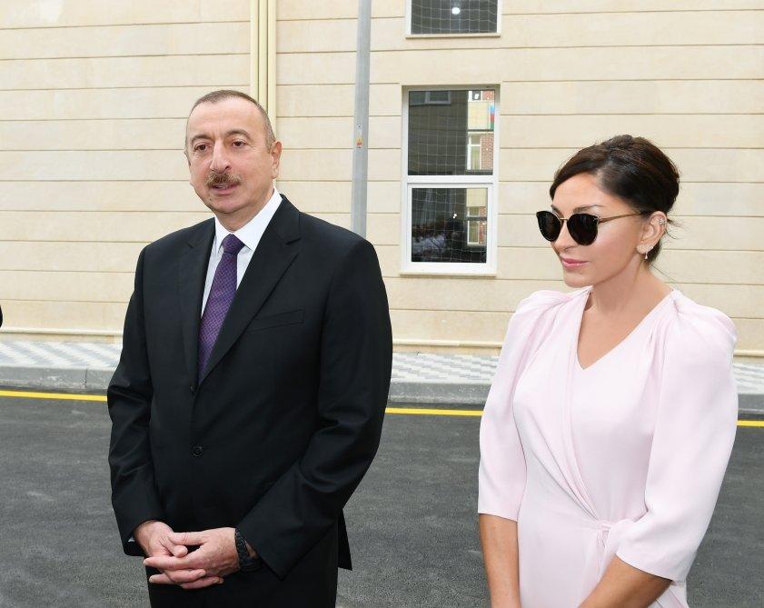 İlham Əliyev və Birinci xanım Bakıda açılışda - FOTO, fotoşəkil-13