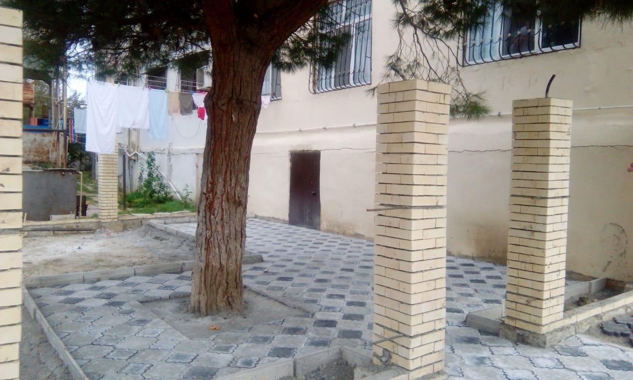 Bakıda insanlığa sığmayan hərəkət - Ağacın dibini betonladılar - FOTO, fotoşəkil-1