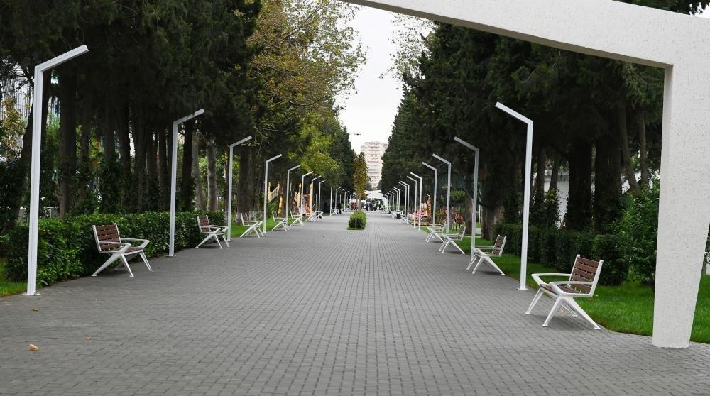 İlham Əliyev və Birinci xanım Bakıda parkda - FOTO, fotoşəkil-21