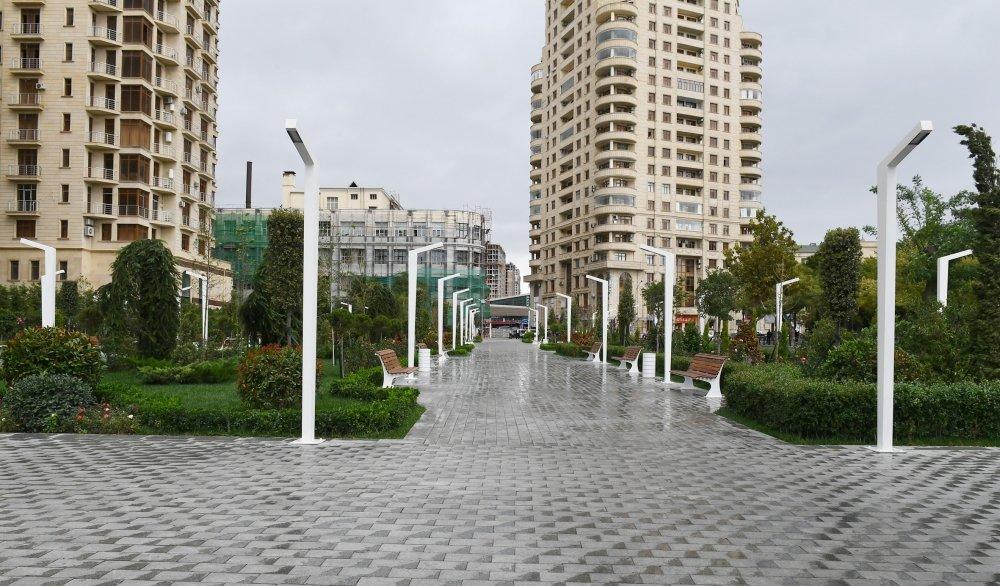 Bakıda yeni park istifadəyə verildi - FOTO, fotoşəkil-3