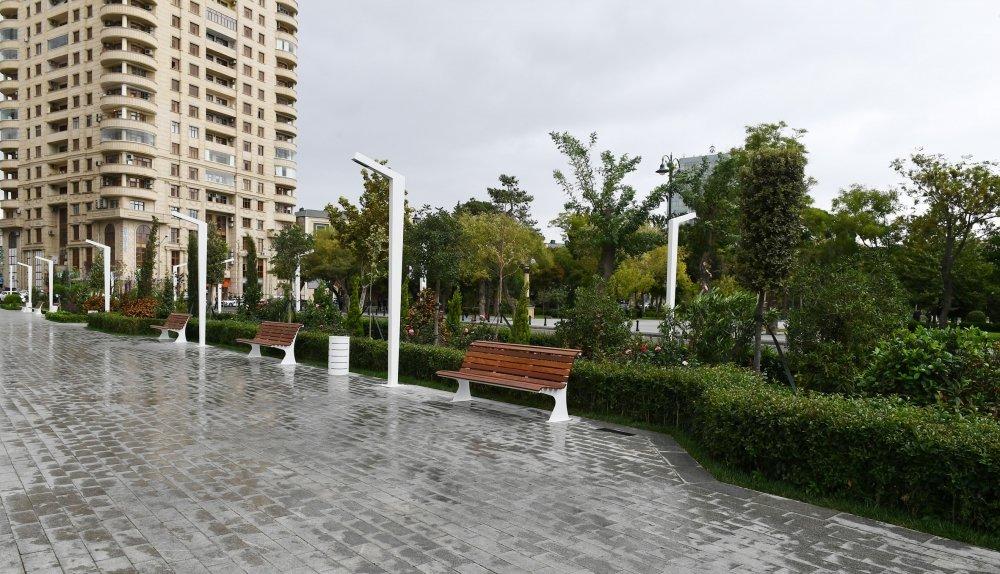 Bakıda yeni park istifadəyə verildi - FOTO, fotoşəkil-4