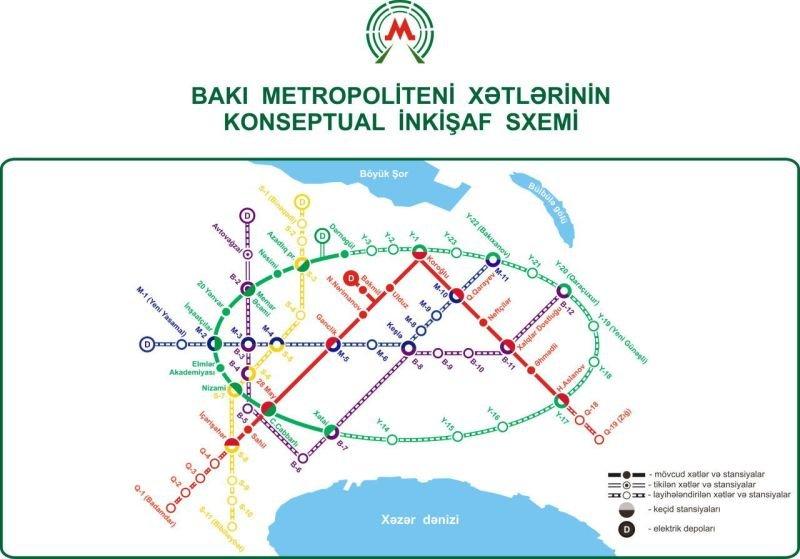 Yeni metrolar, yollar və parklar: Bakının Baş planı bizi nə ilə təəccübləndirəcək? , fotoşəkil-1