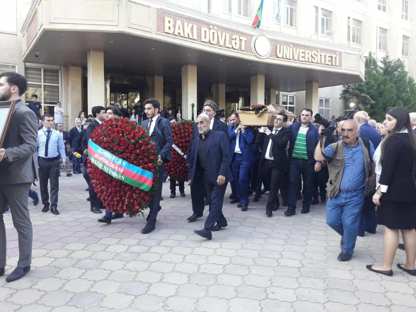 Bakıda akademik Vasim Məmmədəliyevlə vida mərasimi - FOTO, fotoşəkil-7