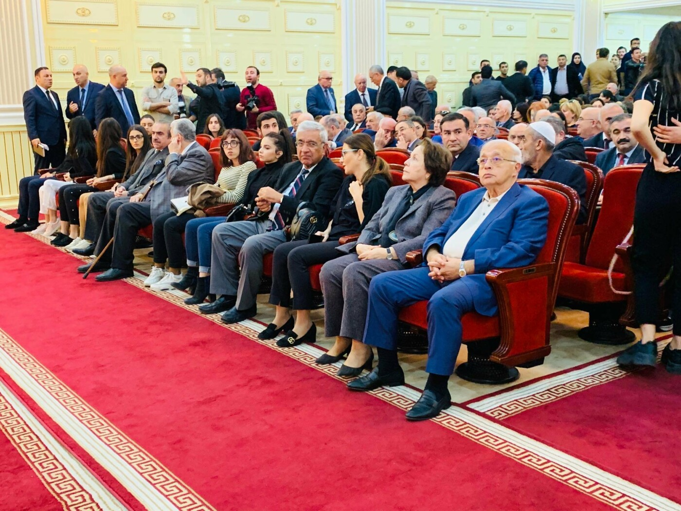 Bakıda akademik Vasim Məmmədəliyevlə vida mərasimi - FOTO, fotoşəkil-3