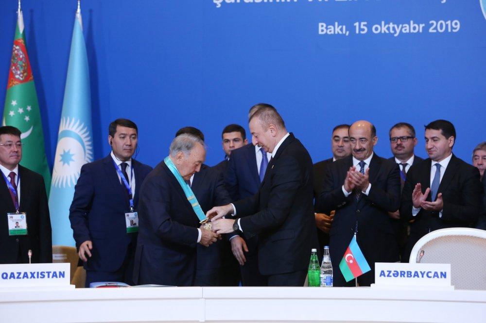 Bakıda Nazarbayevə orden verildi - FOTO, fotoşəkil-2