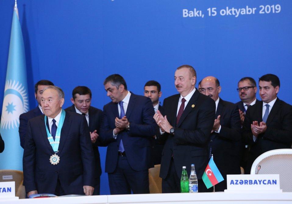 Bakıda Nazarbayevə orden verildi - FOTO, fotoşəkil-4