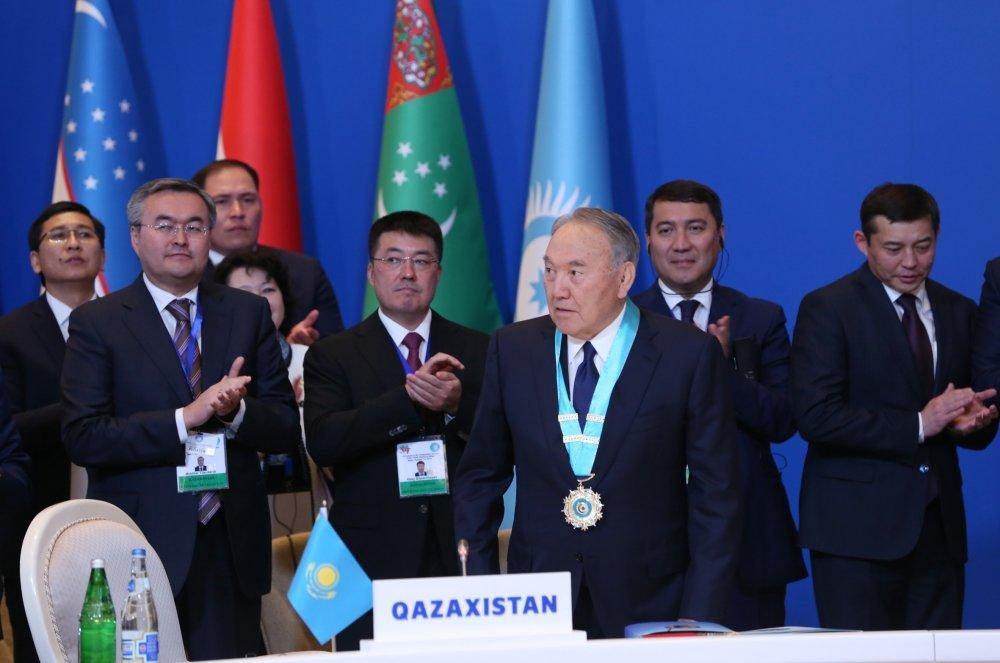 Bakıda Nazarbayevə orden verildi - FOTO, fotoşəkil-5