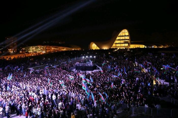 Bakıda Dövlət Müstəqilliyi Gününə həsr edilmiş konsert - FOTO, fotoşəkil-2