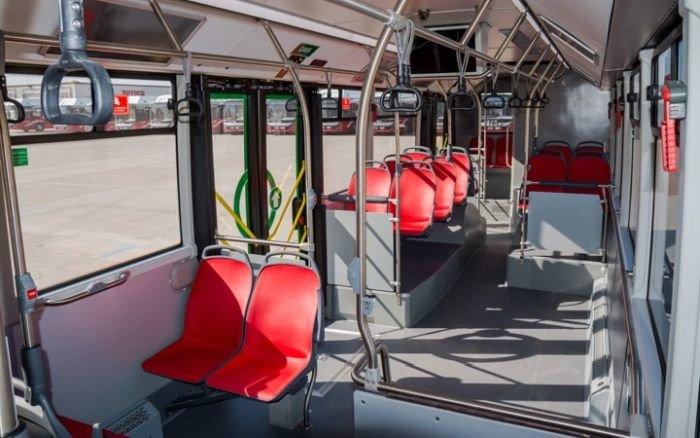 Bakıya 12 metrlik avtobuslar gətirildi - FOTO, fotoşəkil-2