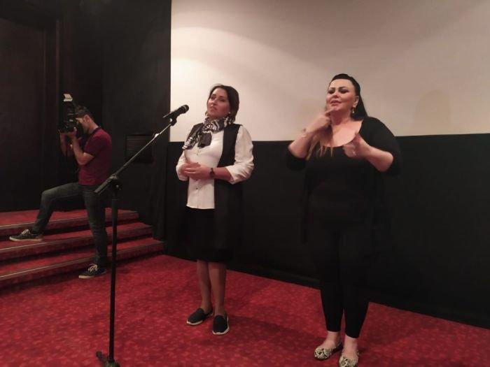 Bakıda danışma və eşitmə qüsurlu uşaqlar üçün film nümayiş olunub - FOTO, fotoşəkil-3