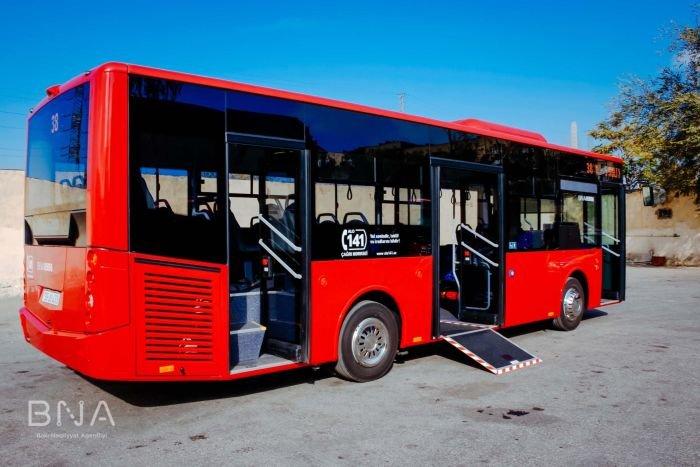 Bakıya daha 10 yeni avtobus gətirildi: marşrut xətti də bilindi - FOTO, fotoşəkil-6