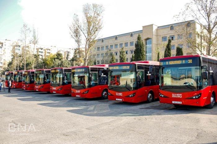 Bakıya daha 10 yeni avtobus gətirildi: marşrut xətti də bilindi - FOTO, fotoşəkil-10