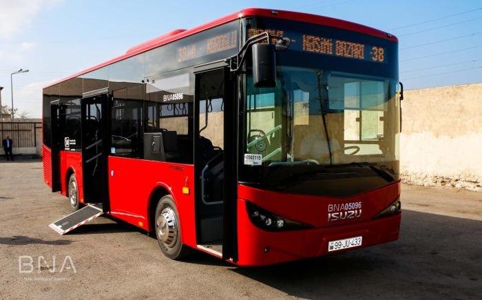 Bakıya daha 10 yeni avtobus gətirildi: marşrut xətti də bilindi - FOTO, fotoşəkil-11