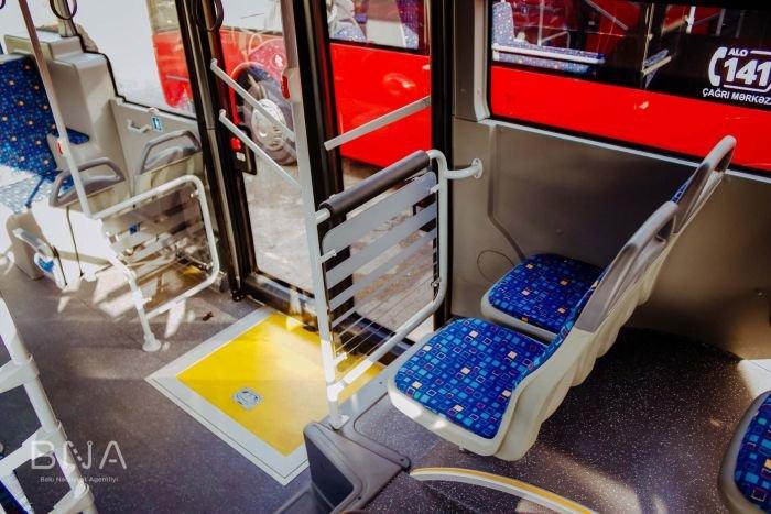 Bakıya daha 10 yeni avtobus gətirildi: marşrut xətti də bilindi - FOTO, fotoşəkil-4