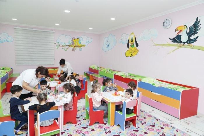Bakıda 64 saylı uşaq bağçası təmirdən sonra - FOTO, fotoşəkil-8