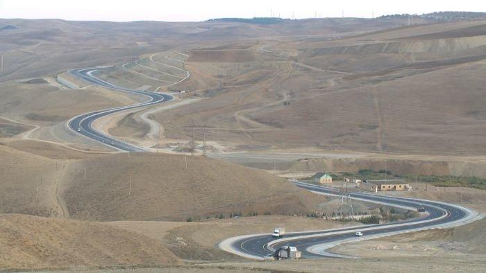 Bakı-Şamaxı yolunun genişləndirilməsi işləri yekunlaşır - FOTO, fotoşəkil-12