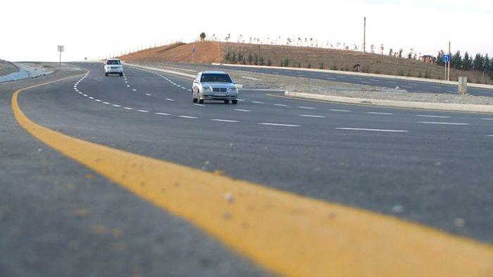 Bakı-Şamaxı yolunun genişləndirilməsi işləri yekunlaşır - FOTO, fotoşəkil-15