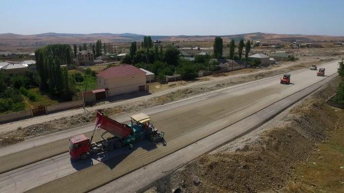 Bakı-Şamaxı yolunun genişləndirilməsi işləri yekunlaşır - FOTO, fotoşəkil-20