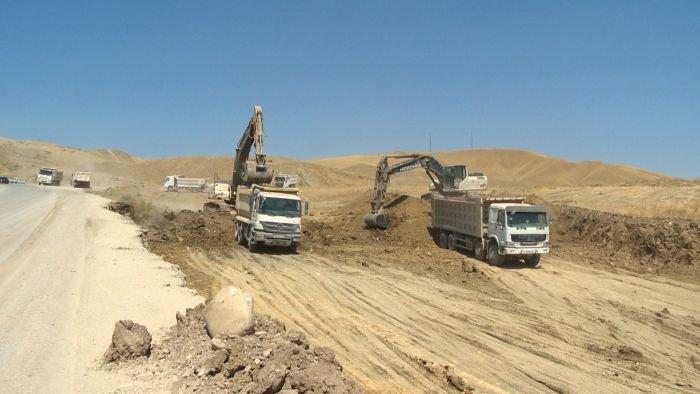 Bakı-Şamaxı yolunun genişləndirilməsi işləri yekunlaşır - FOTO, fotoşəkil-17