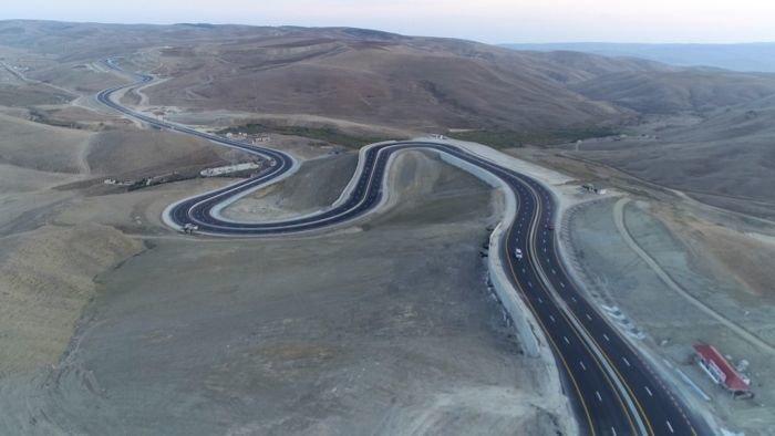 Bakı-Şamaxı yolunun genişləndirilməsi işləri yekunlaşır - FOTO, fotoşəkil-3