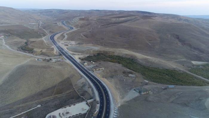 Bakı-Şamaxı yolunun genişləndirilməsi işləri yekunlaşır - FOTO, fotoşəkil-2