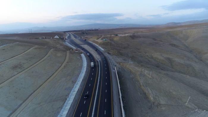 Bakı-Şamaxı yolunun genişləndirilməsi işləri yekunlaşır - FOTO, fotoşəkil-4