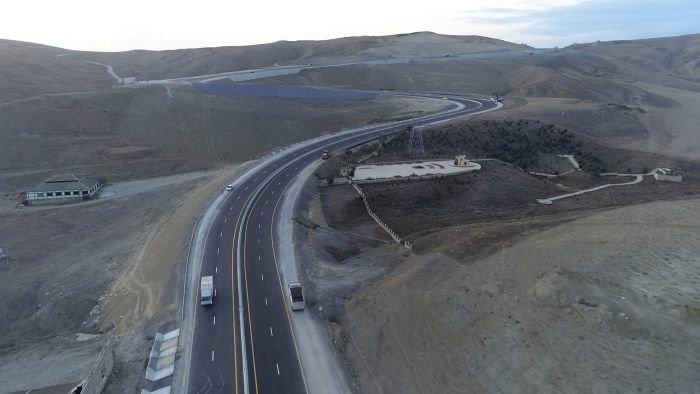 Bakı-Şamaxı yolunun genişləndirilməsi işləri yekunlaşır - FOTO, fotoşəkil-10