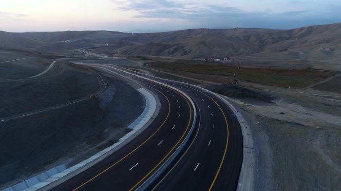 Bakı-Şamaxı yolunun genişləndirilməsi işləri yekunlaşır - FOTO, fotoşəkil-9