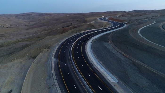 Bakı-Şamaxı yolunun genişləndirilməsi işləri yekunlaşır - FOTO, fotoşəkil-8