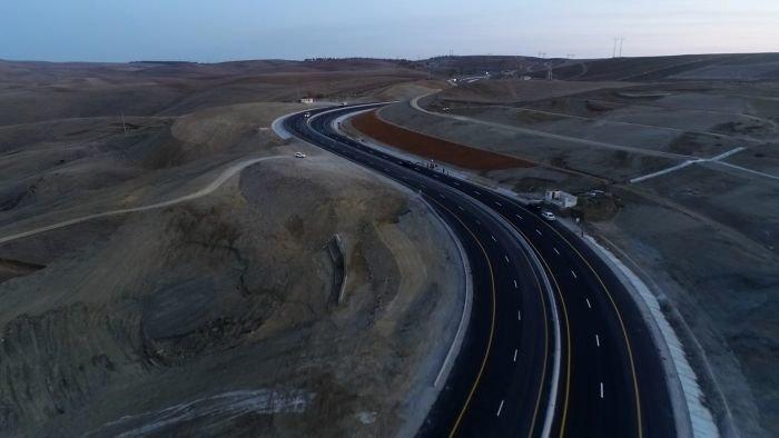 Bakı-Şamaxı yolunun genişləndirilməsi işləri yekunlaşır - FOTO, fotoşəkil-7