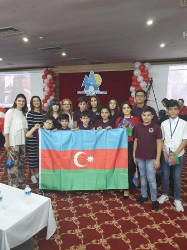 Bakı məktəbliləri beynəlxalq olimpiadada uğur qazandılar - FOTO, fotoşəkil-3