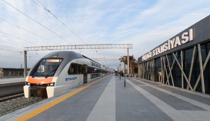 Bakıda yeni dəmir yolu stansiyası - FOTO, fotoşəkil-3