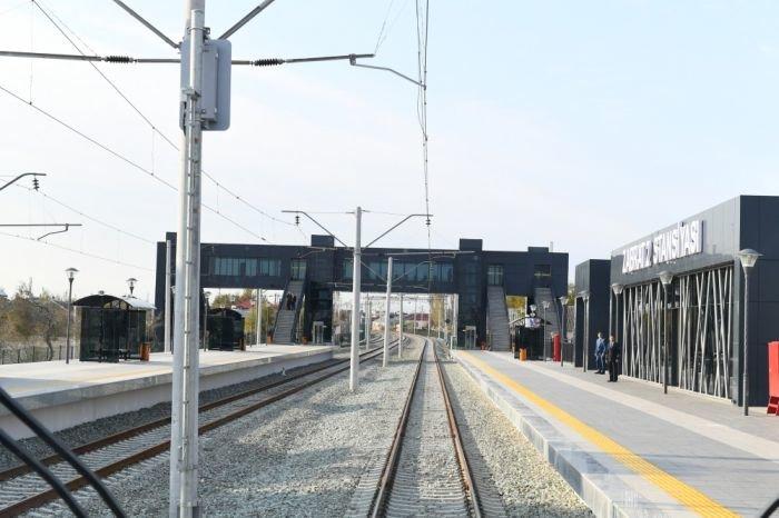 Bakıda yeni dəmir yolu stansiyası - FOTO, fotoşəkil-2