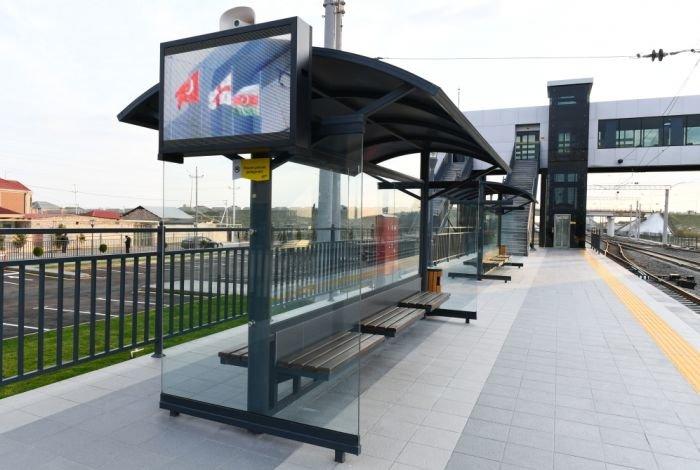 Bakıda yeni dəmir yolu stansiyası - FOTO, fotoşəkil-5