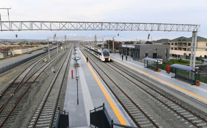 Bakıda yeni dəmir yolu stansiyası - FOTO, fotoşəkil-6