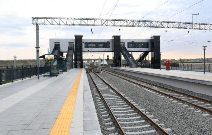 Bakıda yeni dəmir yolu stansiyası - FOTO, fotoşəkil-10