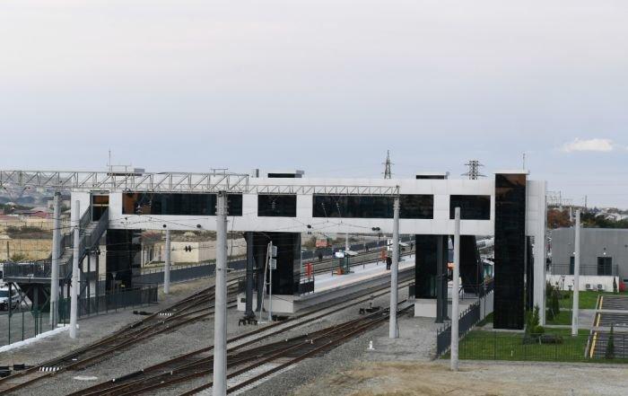 Bakıda yeni dəmir yolu stansiyası - FOTO, fotoşəkil-9