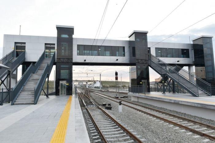 Bakıda yeni dəmir yolu stansiyası - FOTO, fotoşəkil-8