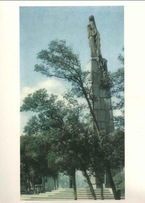 """""""Azad qadın"""" heykəlinin tarixçəsi: yubiley abidəsi, heykəltəraşın tamamlanmamış işi - FOTO, fotoşəkil-3"""