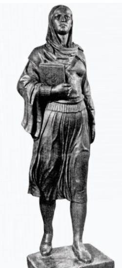 """""""Azad qadın"""" heykəlinin tarixçəsi: yubiley abidəsi, heykəltəraşın tamamlanmamış işi - FOTO, fotoşəkil-2"""