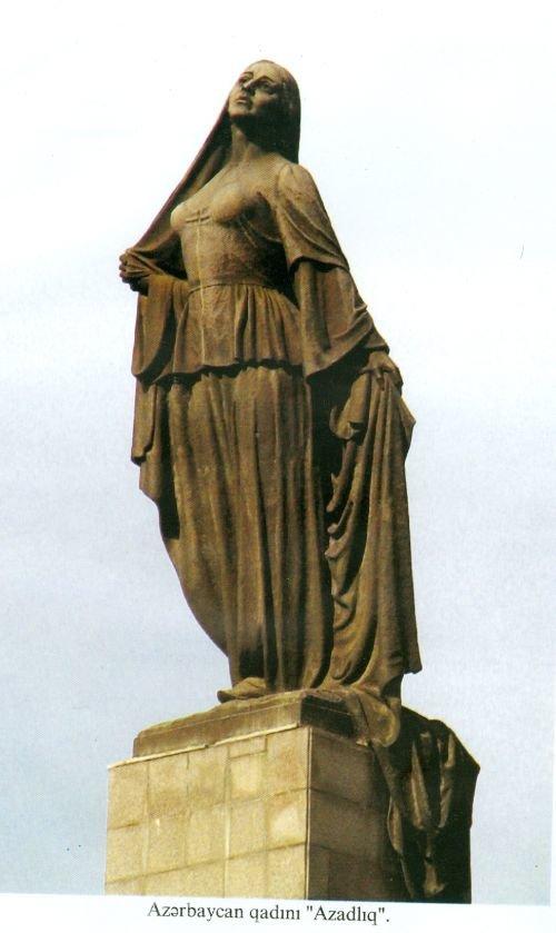 """""""Azad qadın"""" heykəlinin tarixçəsi: yubiley abidəsi, heykəltəraşın tamamlanmamış işi - FOTO, fotoşəkil-5"""