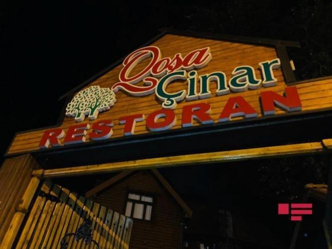 Bakıda məşhur restoranda yanğın - FOTO + VİDEO, fotoşəkil-3