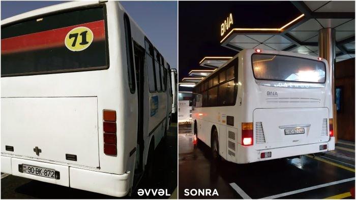 Bakıda avtobuslar təzələndi - FOTO, fotoşəkil-4