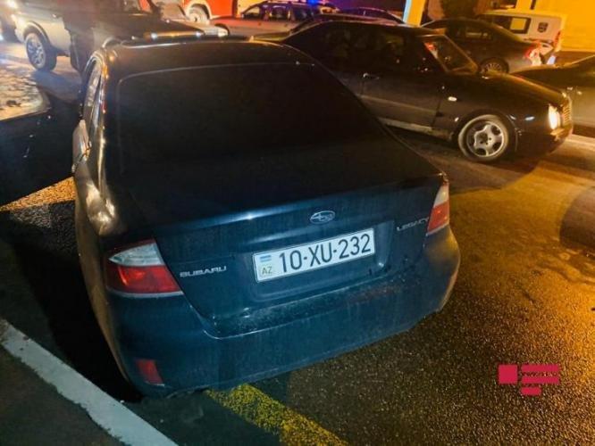 Bakıda qadın sürücünün səhvi: 4 avtomobil toqquşdu - FOTO + VİDEO, fotoşəkil-1