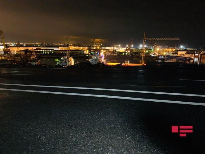 Bakıda yağışdan sonra dəhşətli torpaq sürüşməsi - FOTO + VİDEO, fotoşəkil-5
