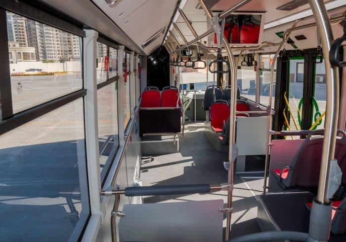 Bakıda 12 metrlik avtobuslar sabahdan istifadəyə verilir - FOTO, fotoşəkil-5