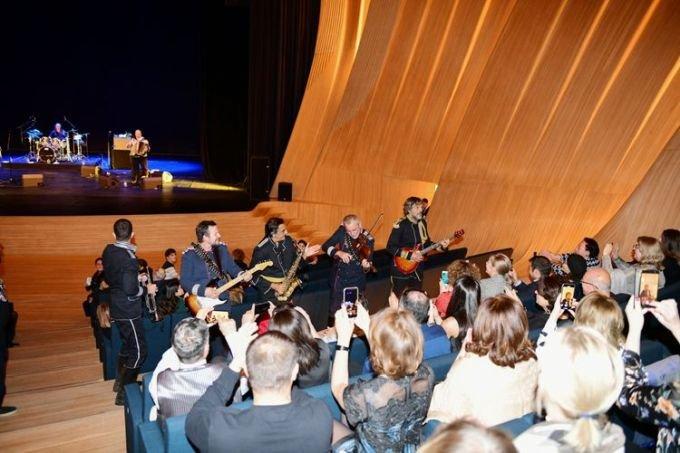 Bakıda əfsanəvi Emir Kusturitsanın konserti olub - FOTO, fotoşəkil-8