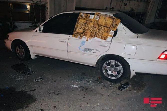 Bakıda qadın sürücü avtomobilini səfirlik maşınının üstünə aşırdı - FOTO, fotoşəkil-1